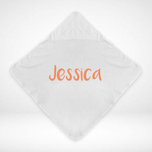 Gestalten Sie jetzt Ihr eigenes Baby-Handtuch online ganz individuell!