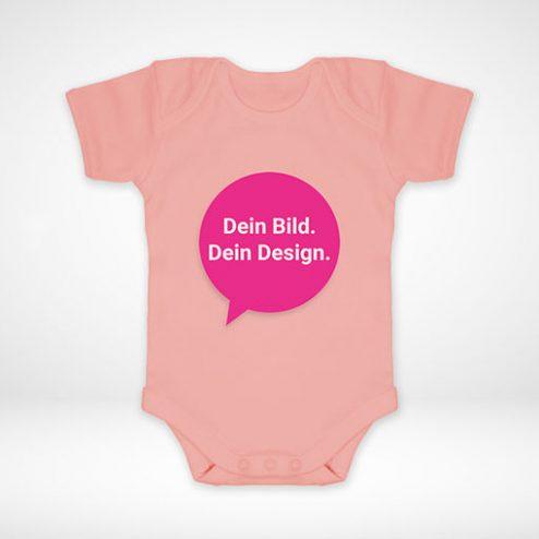 Gestalten Sie jetzt Ihre eigenen Baby-Strampler online ganz individuell!