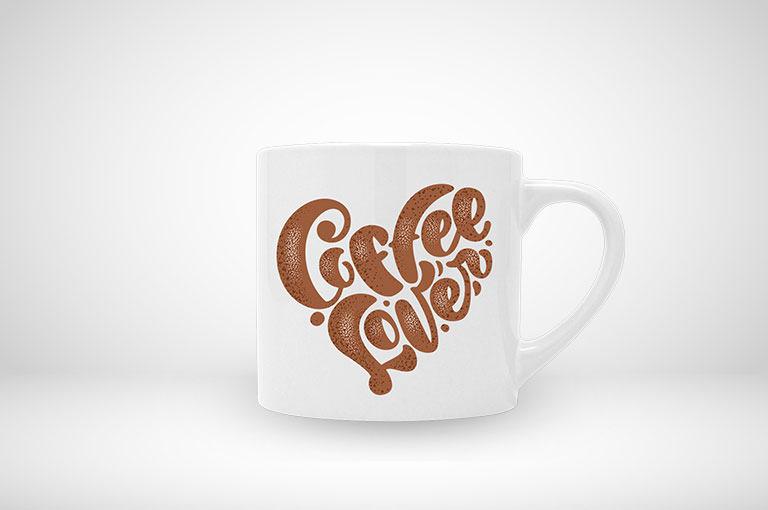 Klassische Cappuccino-Tasse jetzt online gestalten und blitzschnell drucken!