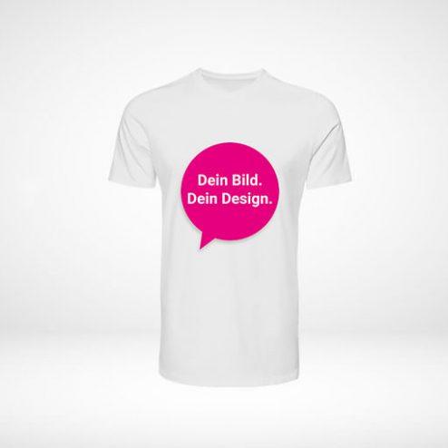 T-Shirt selber online gestalten mit Foto