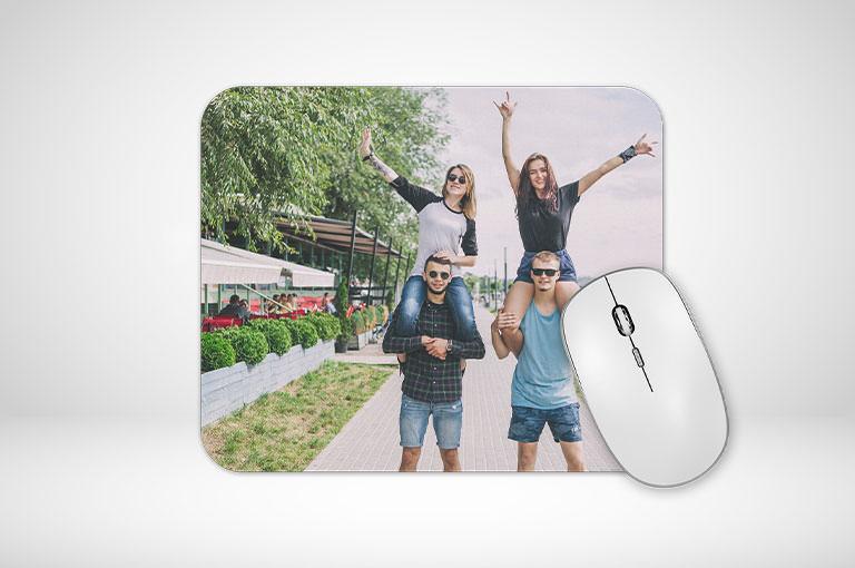 Mousepad farbig online gestalten und blitzschnell bedrucken!