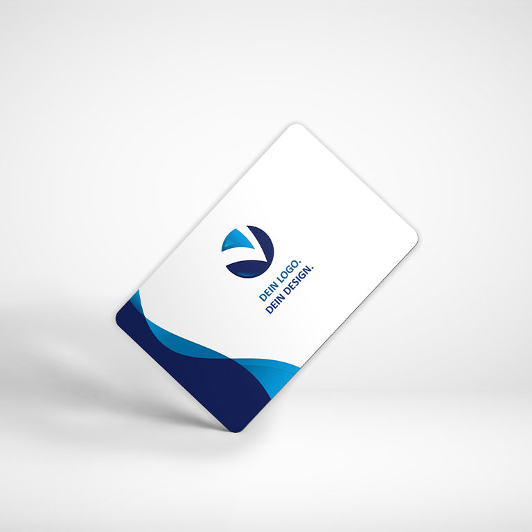 Gestalten Sie jetzt Ihre Plastikkarten online!