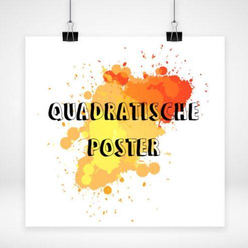 Poster quadratisch Online bestellen