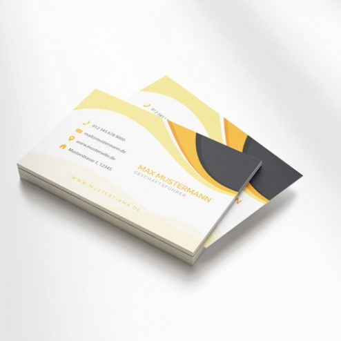 Gestalten Sie jetzt Ihre Visitenkarten online!