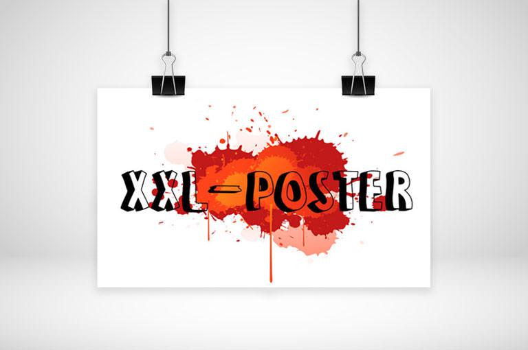 XXL-Poster online gestalten und drucken