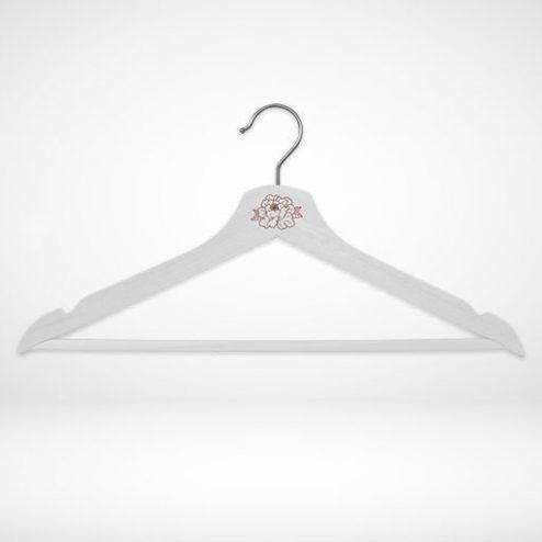 gravierbaren Kleiderbügel