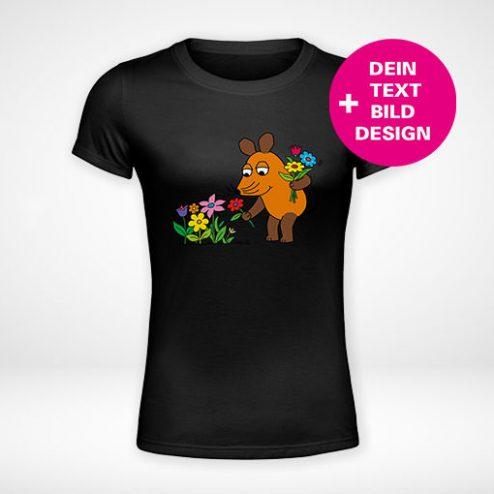 Die Maus©-Damen-T-Shirts online gestalten und blitzschnell drucken!