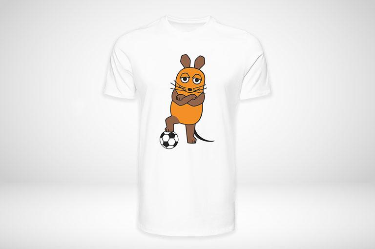 Die Maus©-T-Shirts online gestalten und blitzschnell drucken!