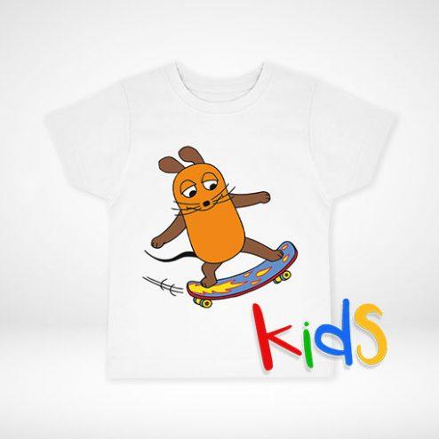 Die Maus©-Kinder-Shirts ganz einfach online gestalten und schnell drucken!