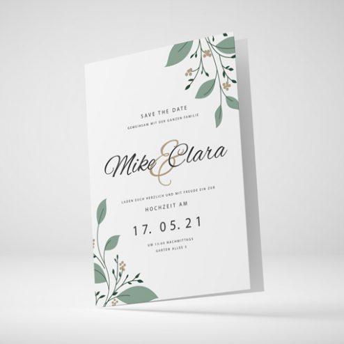 Hochzeitskarten im Din-Format! (Din A6, Din A5, Din B6)