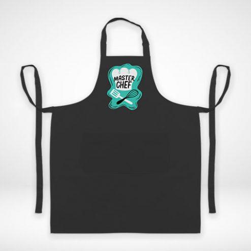 Kochschürze farbig online gestalten und blitzschnell bedrucken!
